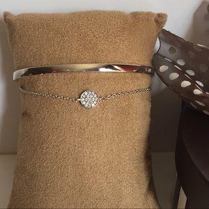 🆕 Henri Bendel Layered Silver Bracelet